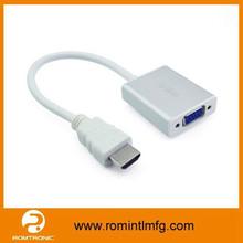 hd-mi to vga rca cable Adapter 15cm AV Converter Male to Female