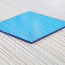 UV coated Polycarbonate transparent solid roofing sheet for polycarbonate sunroom