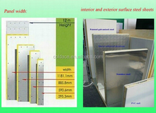 hot sell solar power cold room with sliding door