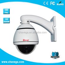 4'' SONY CCD 480TVL mini speed dome waterproof camera video analysis technology