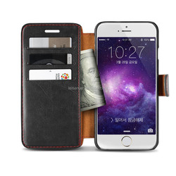 Premium Soft PU Leather Wallet Cover,Case for Apple iPhone 6/6S