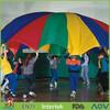 play parachute&rainbow play parachutes&kids Parachute games