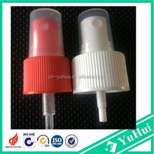 plastic perfume sprayer pump with transparent over cap