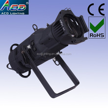 popular warm white 3200k led gobo projector ellipsoidal light