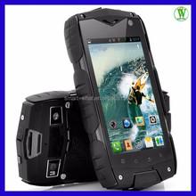 4 inch Quad Core Rugged Phone/Waterproof/Shockproof/Dual 3G SIM/GPS/Bluetooth/WIFI/4G ROM IP68 Waterproof Android Mobile Phone