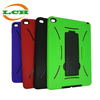 Universal generic vertical Stand shockproof silicone + plastic tablet pc cover cases for ipad air 2 for ipad 6
