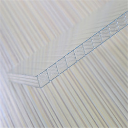endurance roof material high light tranmission UV protected hollow polycarbonate swimming pool cover sheet