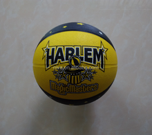official size 7 promotional rubber basketball