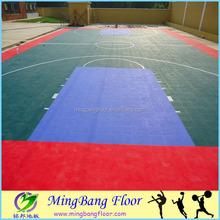 china supplier PP interlocking sports flooring basketball courts
