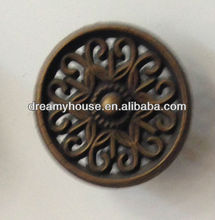 fashion decorative circle cabinet knobs and handles