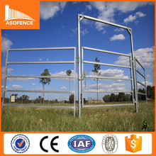 Australia Standard 5 rail galvanized steel horse panel / cheap galvanized steel horse p / 5 rail galvanized steel horse panel