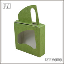magnetic closure folding cardboard bamboo bread box foldable paper packaging boxes