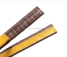 adhesive backed rubber bumper seal strip