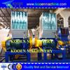 Recycled industrial plastic crusher/plastic crushing machine