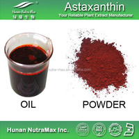 Factory supply Haematococcus pluvialis extract/Astaxanthin 5%/Asparagoside powder/Increase endurance plant extract