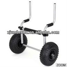 Sit-on-top kayak trolley kayak cart Stowaway Beach Cart