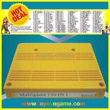 NewArrival SNK multi game Cartridge (150 in 1) video game machine cabinet