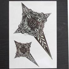 High quality CMYK arm sleeve temporary tattoo stickers