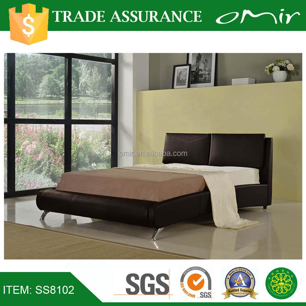 Dubaï royal dernières lit en bois designs souple meubles de ...