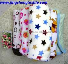 2015 Hot Style Coral Fleece Blanket/children blanket/baby blanket factory China