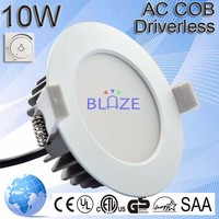 led downlight Driverless 10w 220-240v dimmable ce saa approved