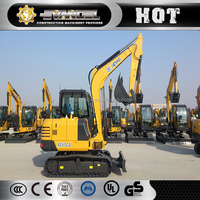 Widely used XCMG XE60CA 6 ton new mini excavator prices