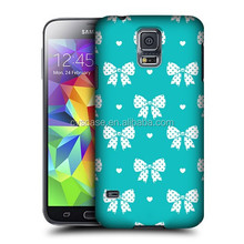 Butterfly Knot PC Phone Case Hot Sales China Supplier For Samsung Galaxy S5