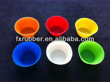 foundant different color silicone mould for cake