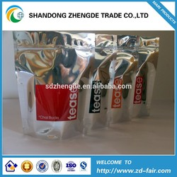 Stand Up Aluminum Foil Bag Printing For Tea Coffee