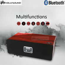 bluetooth speaker with built-in subwoofer with remote