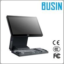 "BUSIN 17.3"" KD7-B6B Programmable POS Terminal with Mechanical Keyboard"