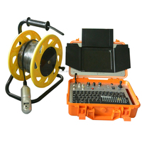 Portable handheld water well Inspection camera system with 360 degree rotate V8-3288PT-2