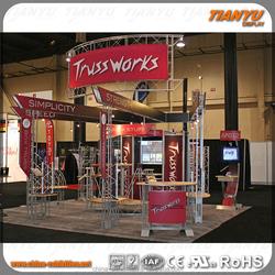 fabric banner aluminum truss stall