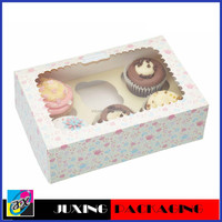 ivory board paper cupcake box