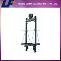 Lift Counterweight Frame, High quality Elevator Parts, Roping 1:1 & 2:1 Elevator Counterweight Frame for Passenger Elevators