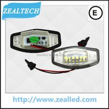 for Honda CIVIC LED license plate Light for Honda auto light with high quality