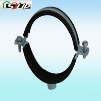galvanized rubber steel 3 inch pipe clamp