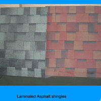 3-tab normal asphalt shingles for roofing