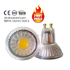 Hot selling 5W gu10 led light,185-260v led bulb,glass cup cob led lamp