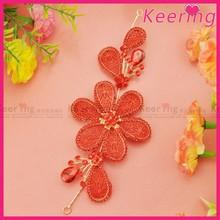 Beautiful Flower Bridal Decorative Headpiece Jewelry WHD-004