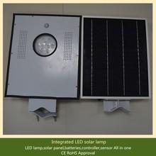 Unify solar panael/battery/controller/led light 110lm/w solar light
