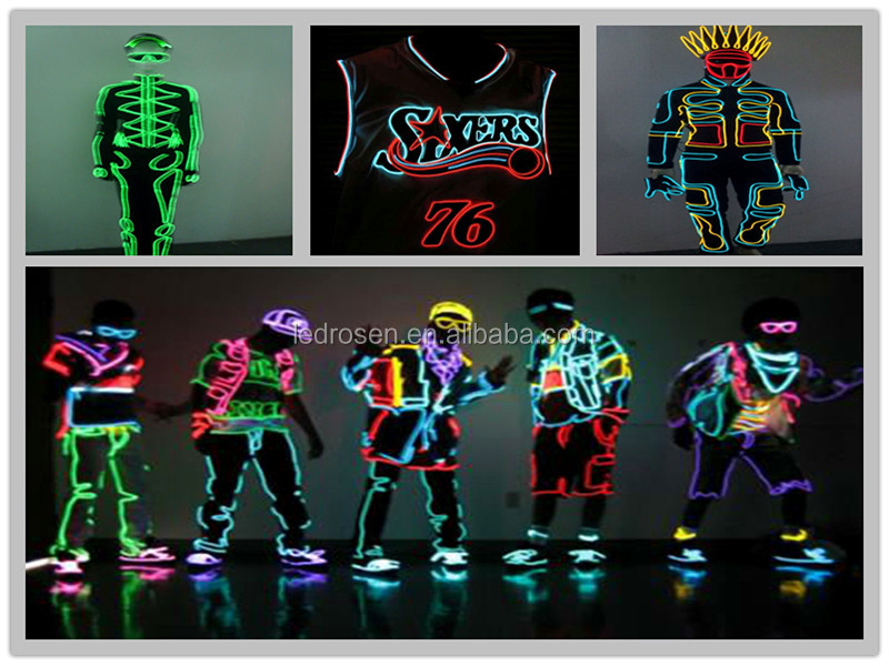 El Wire Kits Battery Operated Electroluminescent Lights - Buy El ...