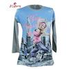 sublimation printing ink cotton korea jersey girl t shirt