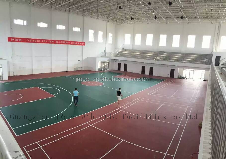 Wholesale Synthetic Environmental Basketball Court Price