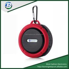 New designed waterproof bluetooth stereo shower outdoor portable speaker