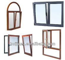 aluminum turn and tilt window,aluminum glass opening window