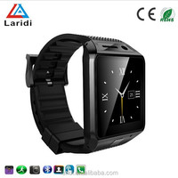 2015 New arrival touch screen Android smart watch GV08S wrist watches mobile phone support multi-languages
