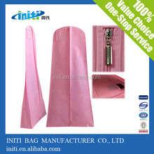 2015 Wholesale Alibabba Non Woven Wedding Dress Cover For Packing
