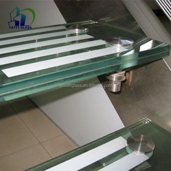 tempered laminated glass laminated safety glass for stairs with competitive laminated glass price per square metre