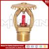 Pendent brass fire sprinkler Upright brass fire sprinkler Sidewall brass fire sprinkler
